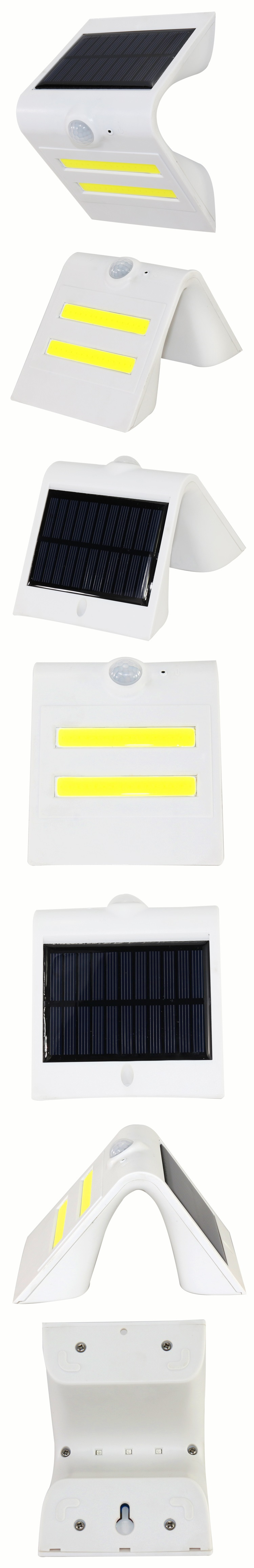 壁灯白色细节