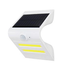 1.5W Senzor solar cu LED-uri de lumină perete alb