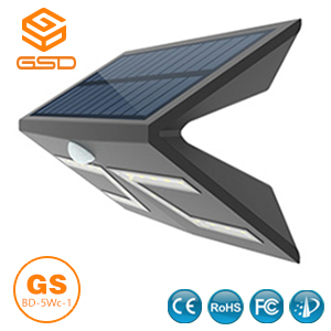 5W SMD LED Solar Wall Lamp